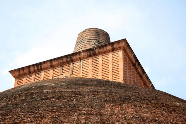 Techo de Dagoba en Anuradhapura