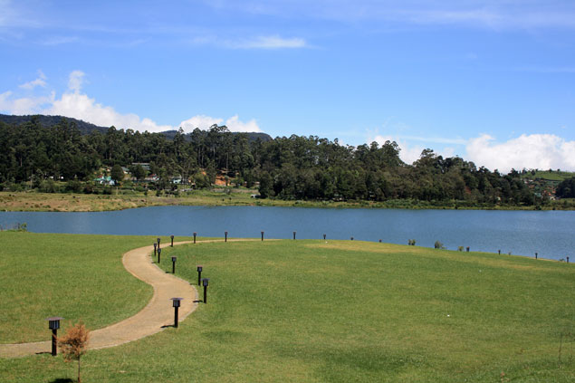 Lago de Nuwara Eliya
