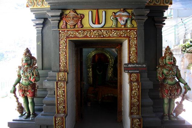 Templo hindú de la ciudad