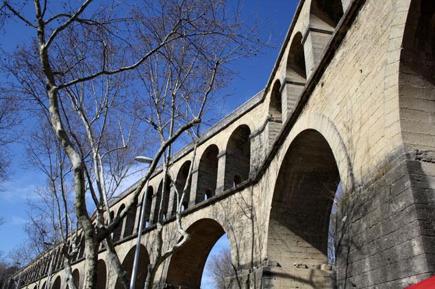El acueducto de Montpellier