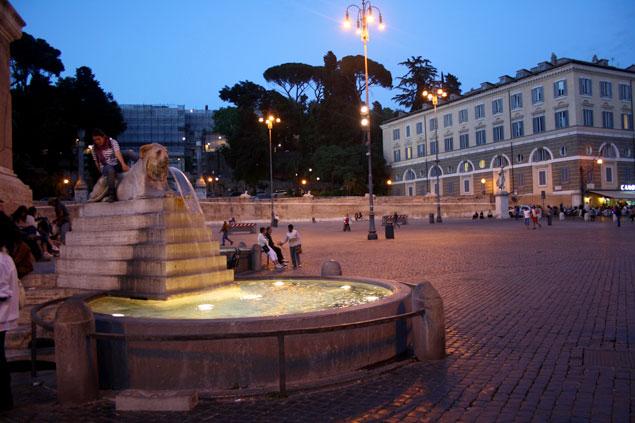 La fontana del Popolo