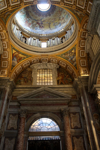 Interior de la Basílica