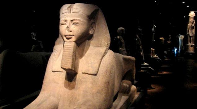 Restos del antiguo Egipto