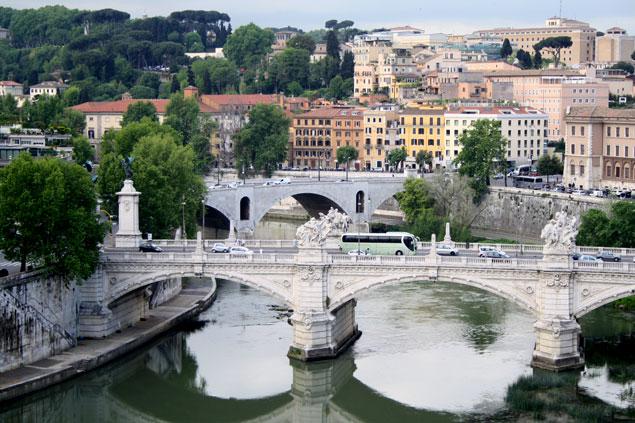 Vistas del río Tiber