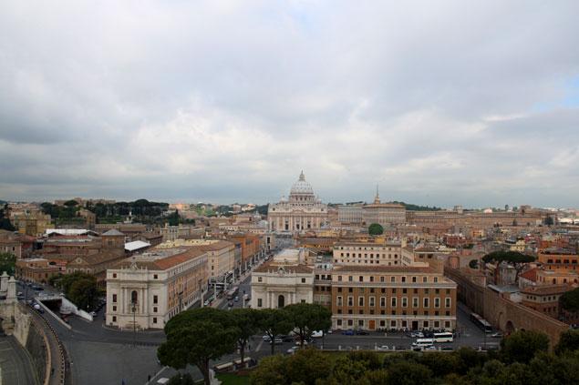 Vistas de El Vaticano