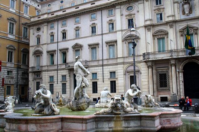La fuente de la Piazza Navona