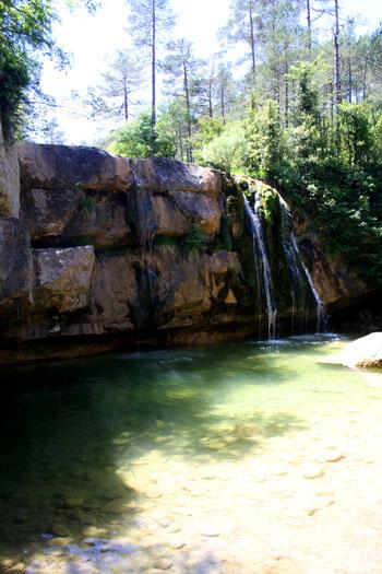 aguas verde turquesa