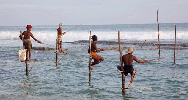 Pescadores de Welligama