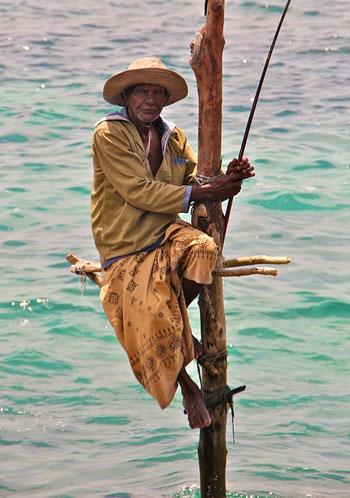 Una pesca diferente