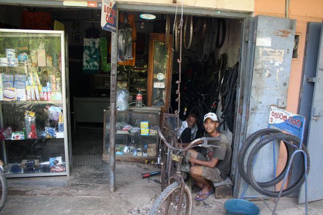 Tienda de reparación de bicicletas