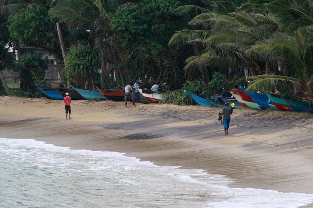 Playas de Tangalle