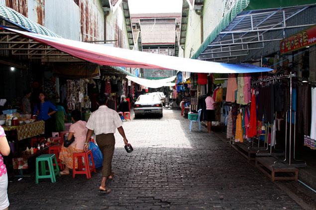 Tiendas del mercado