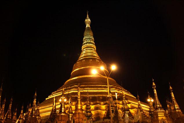La gran estupa de Myanmar