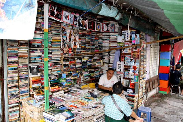 Librería de Yangon