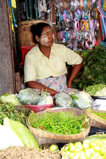 Mercado de Kalaw (Comer en Myanmar)