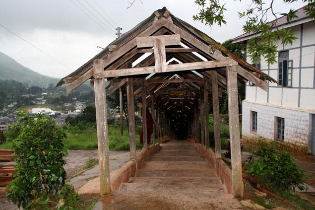 Puertas hacia el templo