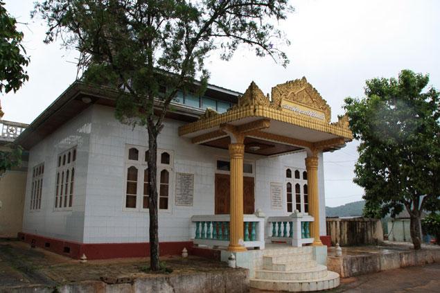 Pabellón budista