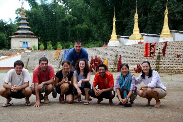 Nuestro grupo del Trekking Kalaw-Lago Inle