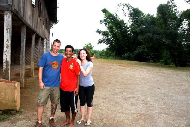 Con nuestro gran amigo Mug Zan