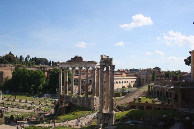 Los Foros Romanos, son una visita imprescindible