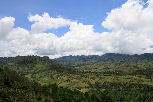 Recorriendo el estado Shan