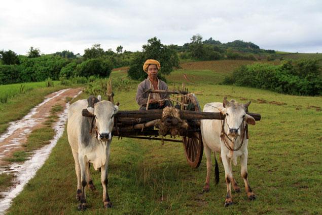 Como siglos atrás , ruta por Myanmar