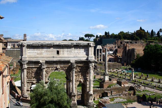 Vista desde el Coliseo