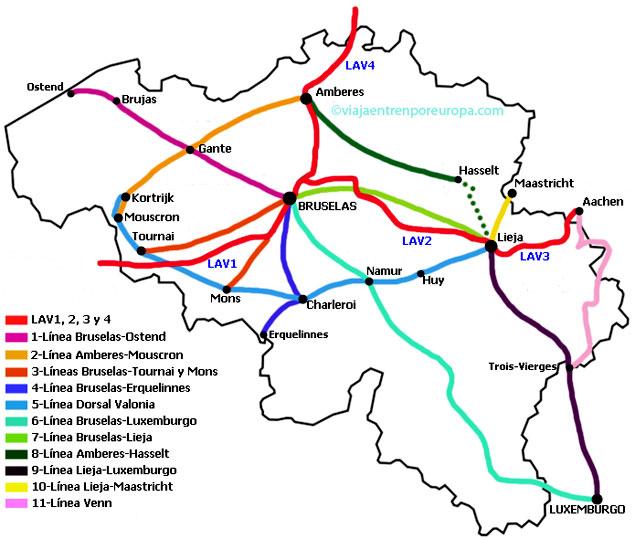 Como Ir De Bruselas A Brujas Bélgica Información útil