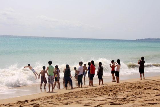 itinerario por Taiwan , Playas de Kenting