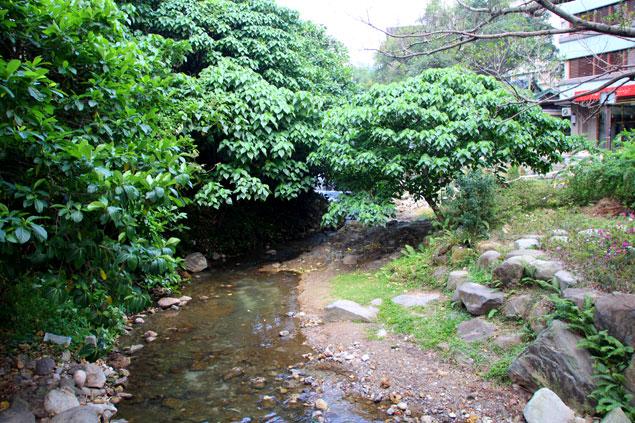 Río a su paso por Beitou