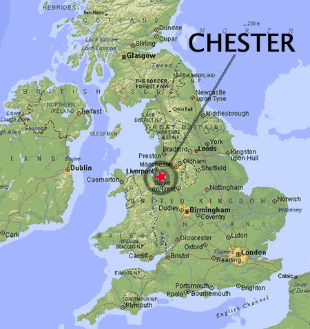 Ubicación Chester