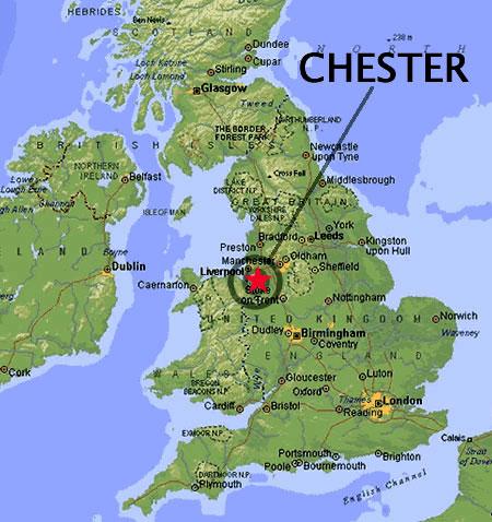 Ubicación de Chester