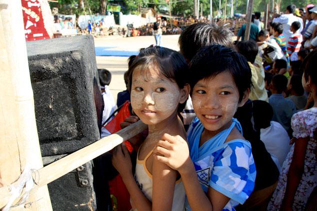 Aplicada en los niños como protección solar