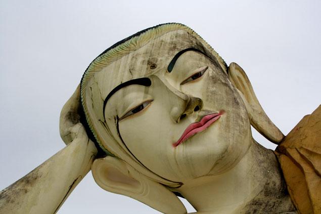 Buda reclinado de Bago