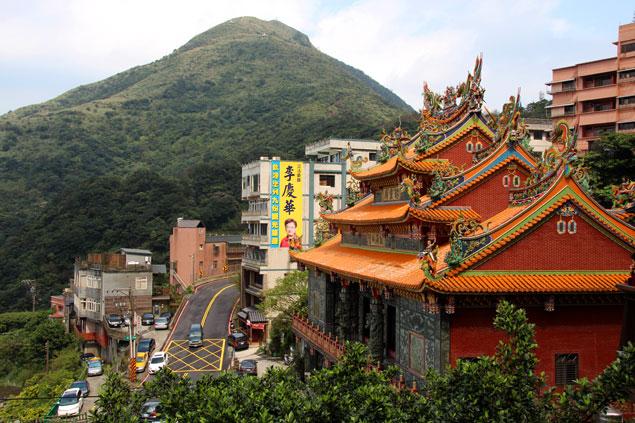 Templo en Jiufen