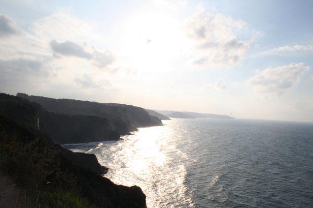 Cabo de Lastres desde el Faro