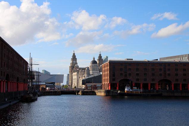 Zona de Albert Dock