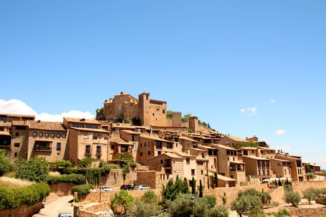 Vista de la Villa de Alquézar