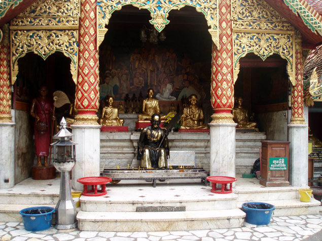 Homenaje a monjes influyentes