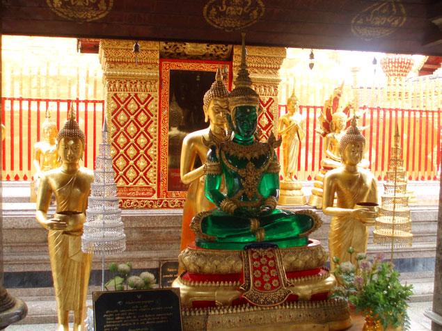 Réplica del Buda Esmeralda