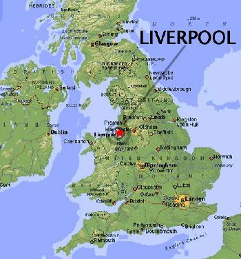Ubicación de Liverpool