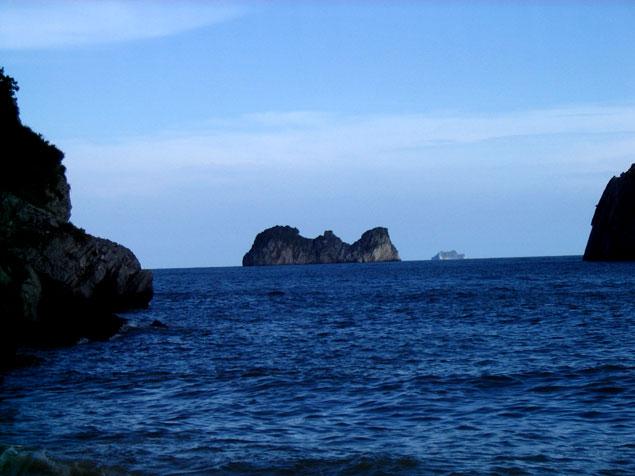 Vista de la Bahía desde Cat Ba