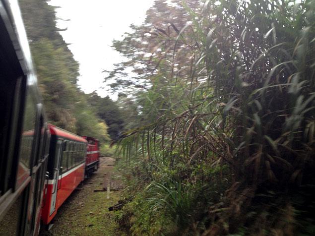 Linea de tren japonesa