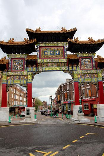 Puerta de Chinatown
