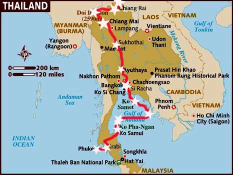 Itinerario por Tailandia