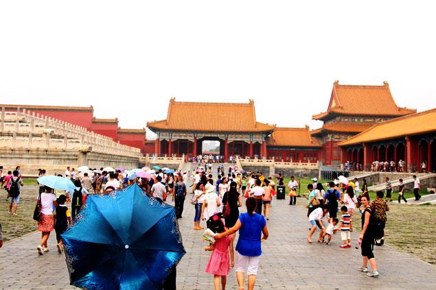 Miles de personas la visitan a diario