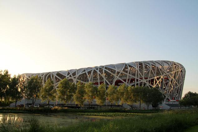 """Estadio del """"nido de pájaro"""""""