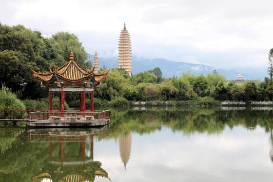 De viaje por China , la siempre hermosa ciudad de Dali