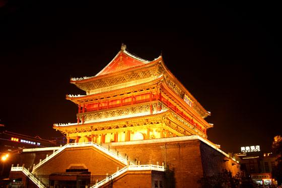 itinerario por China ,Torre de Xian