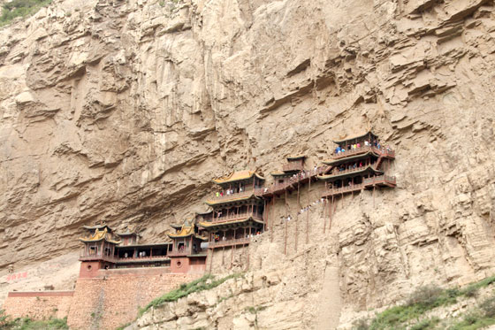 Itinerario por China , Monasterio colgante de Datong